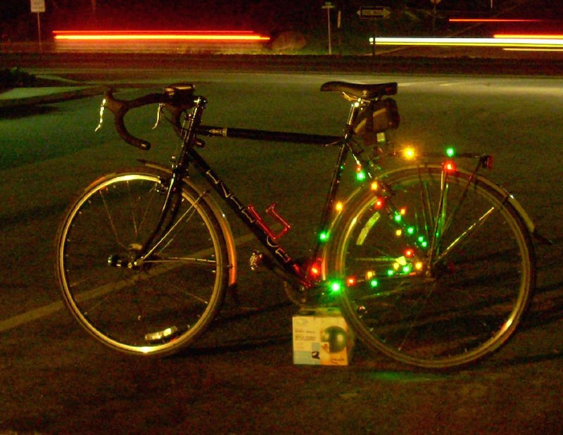 Bike Xmas Lights