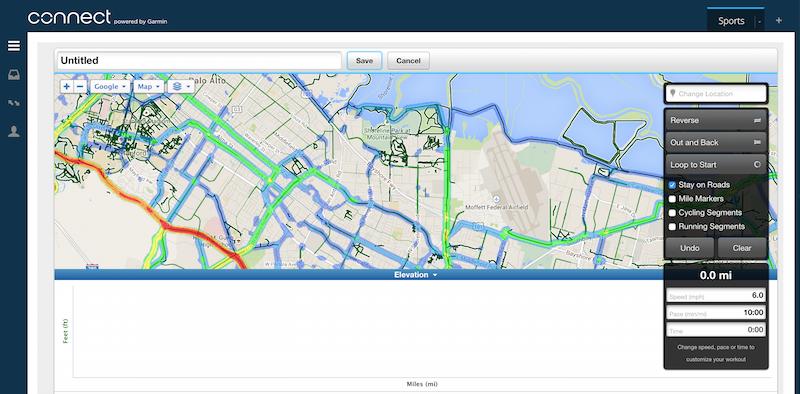 Garmin Route Planner