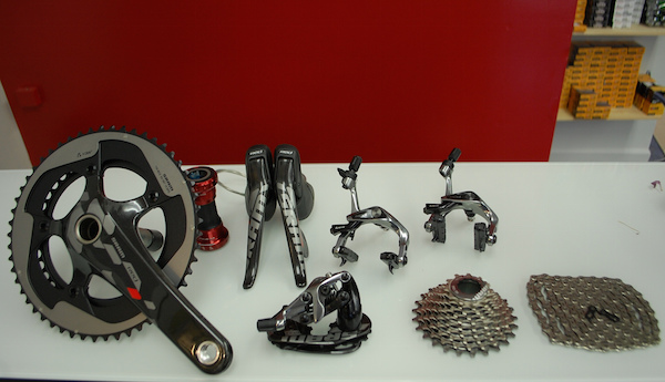 Parts of a Bike: SRAM Red Grouspet